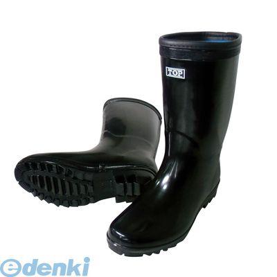 喜多(KITA) [4931530550061]ブラック 26.5 軽半長靴 KR881