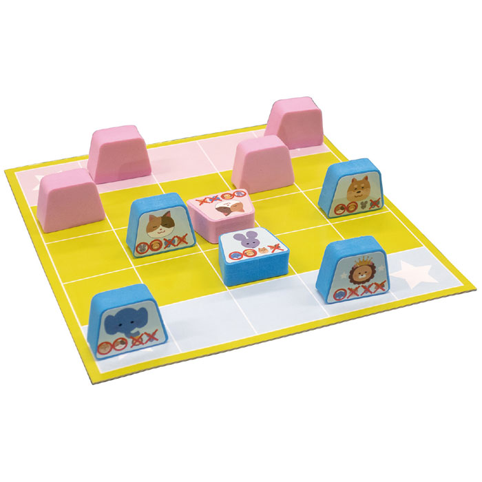 かくれんぼアニマルしょうぎ 将棋 知育玩具 ボードゲーム 勝負 考える 遊ぶ アニマル おもちゃ 幼児 子供 アーテック 7140