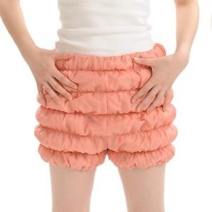送料無料 かぼちゃパンツCQ ピンク/ お腹 お尻 ぽかぽか美容 健康 睡眠 安眠 保温 遠赤外線
