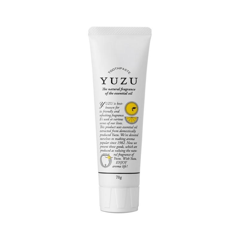 高知県産YUZU 歯磨き粉/デンタルケア 歯みがき 美容 健康