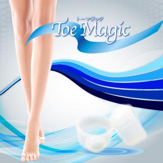 メール便送料無料 Toe Magic トーマジック/ダイエットリング 美容 健康 スリム ダイエットサポート