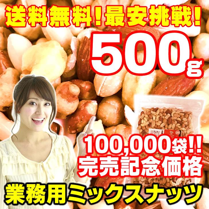 おやつおつまみ ミックスナッツ 500g(auPAYマーケット)