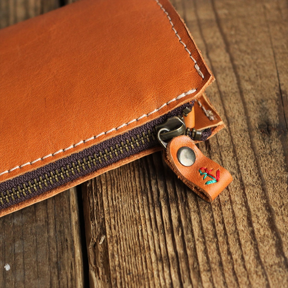 L字ファスナー式スマート長財布 g-65