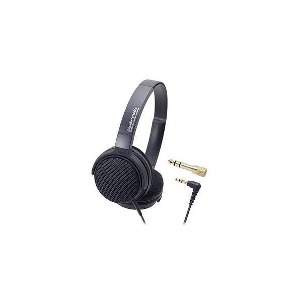 Audio-Technica オーディオテクニカ 楽器用モニターヘッドホン ATH-EP300 BK AV デジモノ イヤホン ヘッドホン[▲][TP]