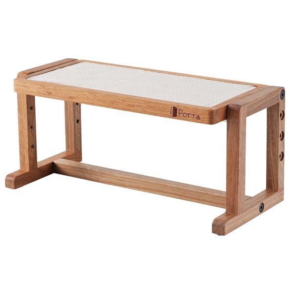 まとめ売りPorta ウッディドッグテーブル(ペット用品) ×4セット ホビー ペット 犬[▲][TP]
