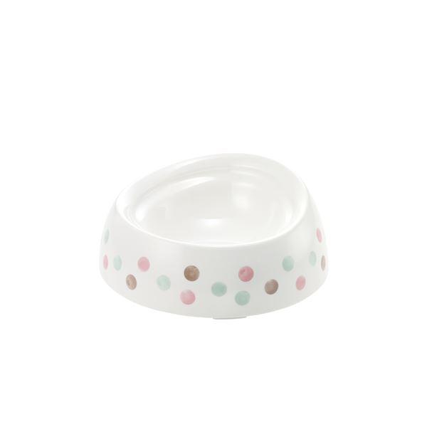 まとめ売り食べやすい ドッグディッシュ SS 浅型 ホワイト (ペット用品) (×5セット ホビー ペット 犬[▲][TP]
