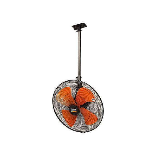 TRUSCO 全閉式アルミハネ工場扇ゼフィール ハンガータイプ( ブラック)TFZPA-45H-BK 1台 家電 季節家電(冷暖房 空調) 扇風機 サーキュ