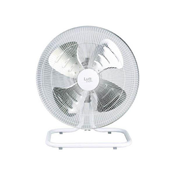 TRUSCO全閉式工場扇ルフトハーフェン据え置きタイプ アルミハネ ホワイト TFLHA-45A-W 1台 家電 季節家電(冷暖房 空調) 扇風機 サーキ