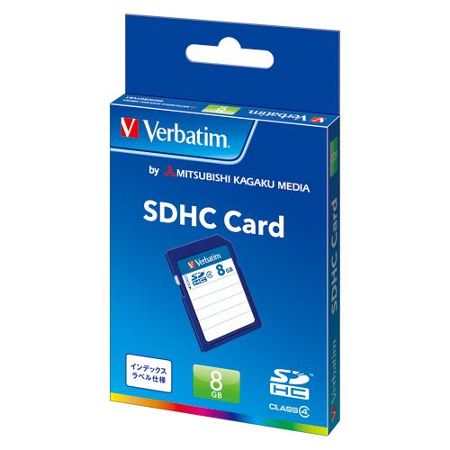 三菱ケミカルメディア Verbatim SDHCメモリーカード