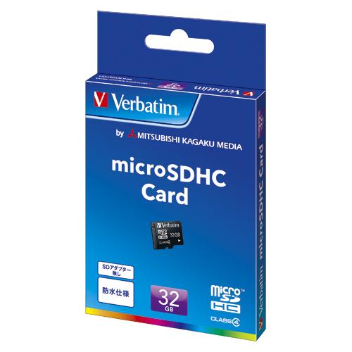 三菱ケミカルメディア Verbatim microSDHCメモリーカード
