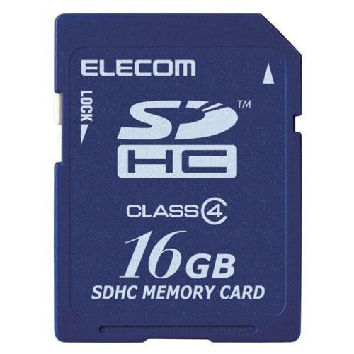エレコム SDHCカード Class4 16GB 法人専用 簡易パッケージ