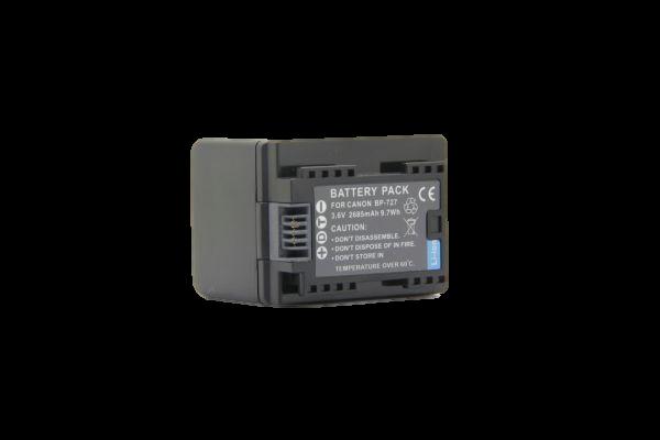 BC122→ CANON BP-727+ iVIS HF M52 M51 R41 BP-727+ iVIS HF R32 iVIS HF R42 HF M51 / iVIS HF R31 / iVIS HF R30 バッテリ-