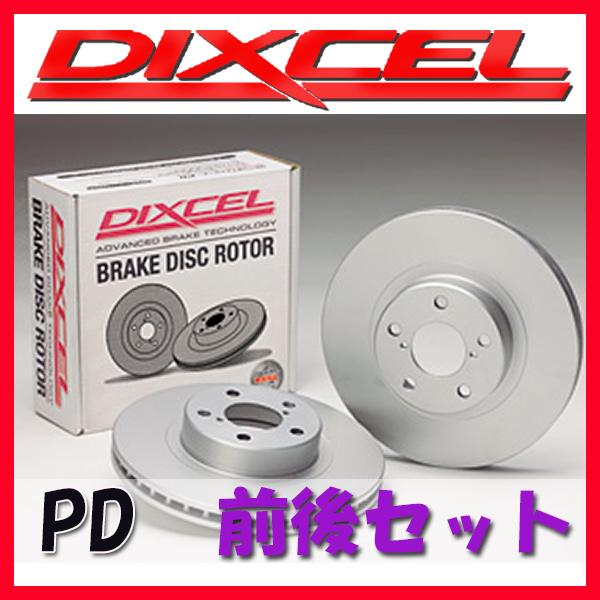 DIXCEL PD ブレーキローター 1台分 W204 (SEDAN) C250 (2.5 V6) 204052 PD-1114903/1154902