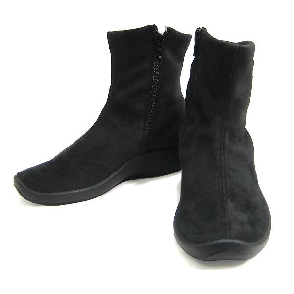 アルコペディコ ブーツ L8 ショートブーツ ARCOPEDICO ブラック 黒 ポルトガル製 靴 エリオさんの靴