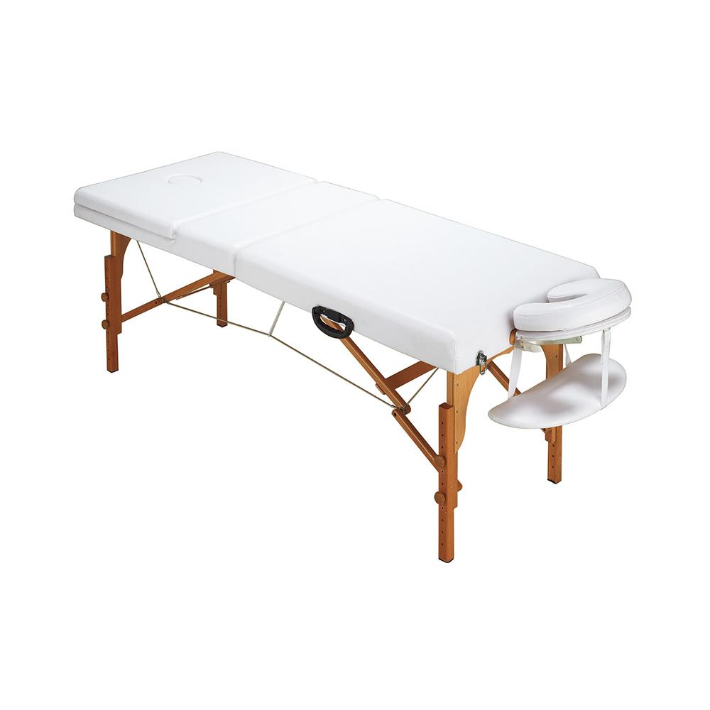木製折り畳みベッド CB-920 ホワイト 西村製作所