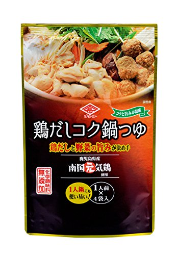 チョーコー 本鶏だしコク鍋つゆ 30mlX4 冬期限定品