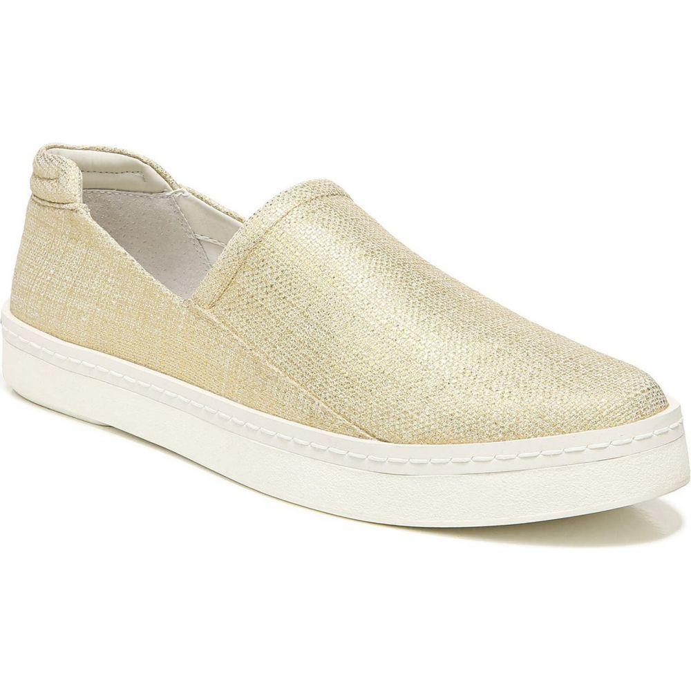 フランコサルト FRANCO SARTO レディース スリッポン・フラット スニーカー シューズ・靴 Alma Metallic Slip-On Sneaker Gold Fabric