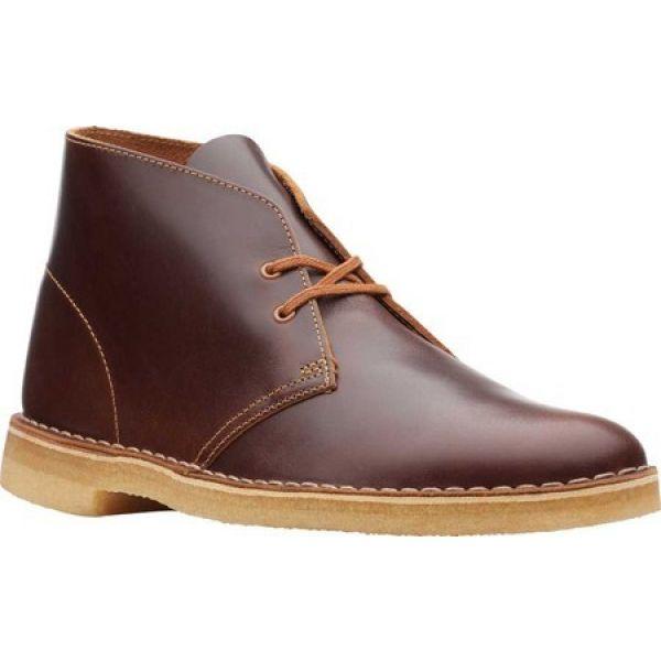 クラークス Clarks メンズ ブーツ シューズ・靴 Desert Boot Tan Leather