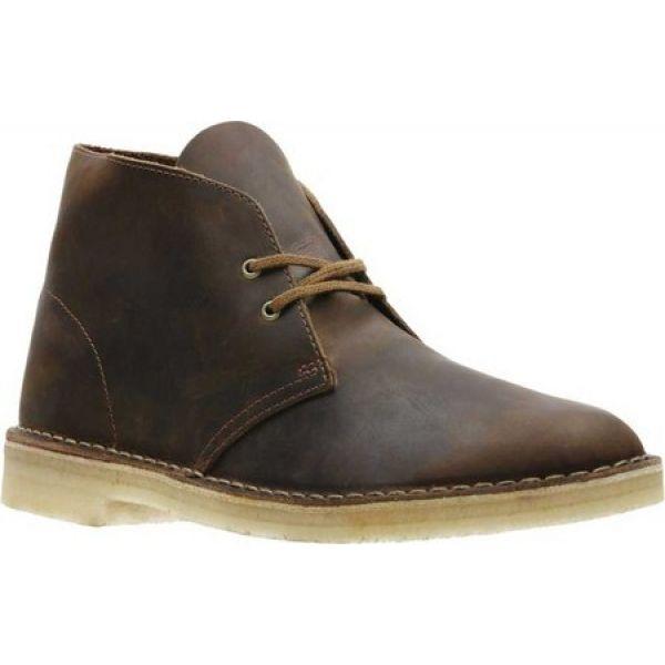 クラークス Clarks メンズ ブーツ シューズ・靴 Desert Boot Beeswax Leather