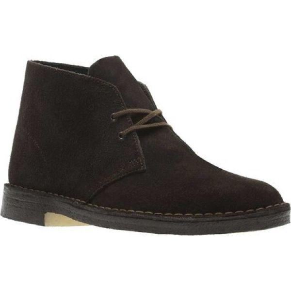 クラークス Clarks メンズ ブーツ シューズ・靴 Desert Boot Brown Suede