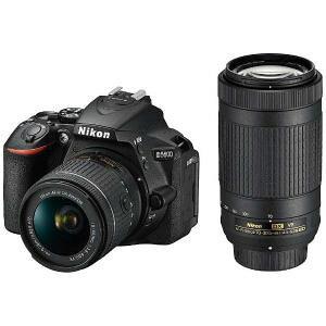 「納期約2週間」 Nikon ニコン D5600-W70300KIT デジタル一眼カメラD5600ダブルズームキット D5600W70300KIT
