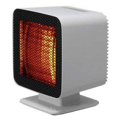 プラスマイナスゼロ ±0 リフレクトヒーター XHS-Z310 (ライトグレー)(中古品)