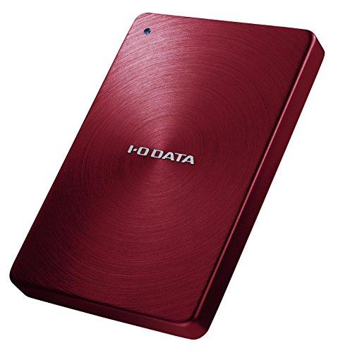 I-O DATA 外付けHDD ハードディスク 1TB ポータブル カクうす アルミボディ(未使用品)