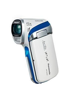 パナソニック デジタルムービーカメラ 防水仕様 マリンホワイト HX-WA20-W(中古品)