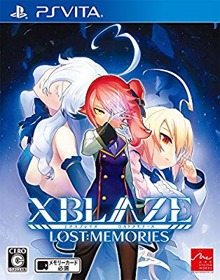 XBLAZE LOST: MEMORIES - PS Vita(中古品)