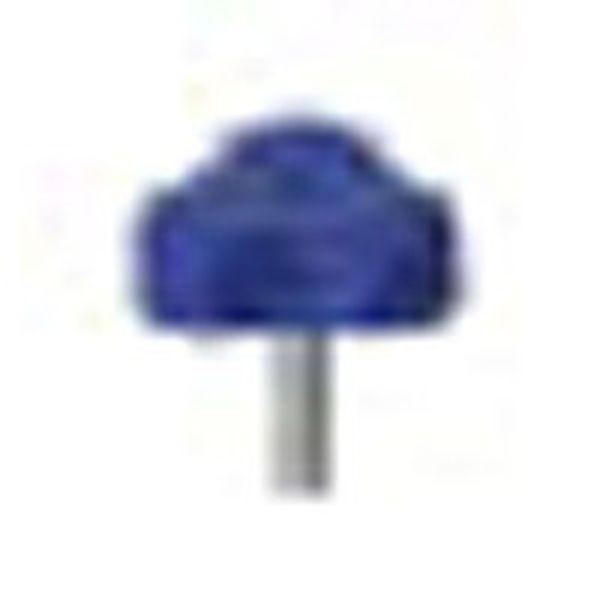 ESK33M5X15BP 363-2725 三星産業貿易(株) 三星 イーグルスターノブ 三平 M5×15 青 (1個入り) WO店