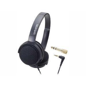 オーディオテクニカ ヘッドホン ATH-EP300 BK