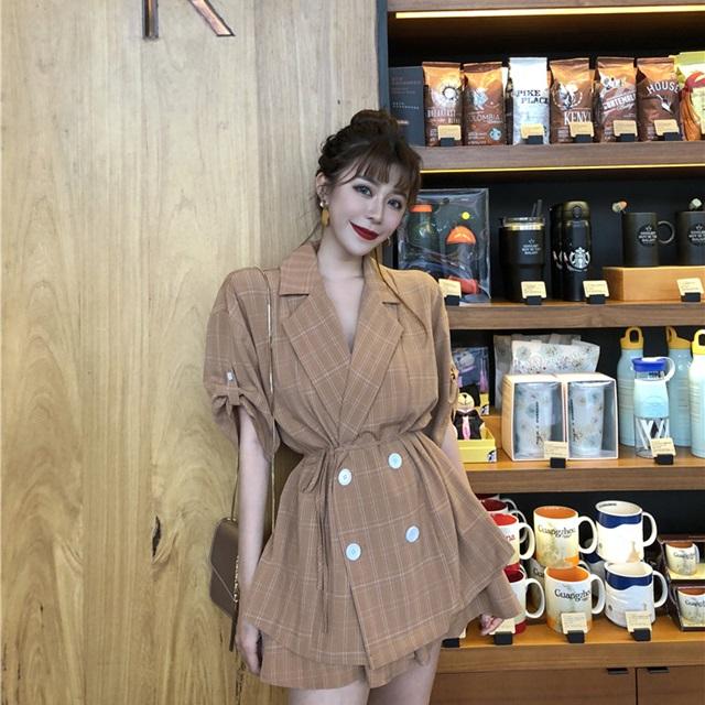 韓国 ファッション レディース セットアップ ジャケット 春 セットアップ レディース 春 スーツ オルチャン ファッション セットアップ