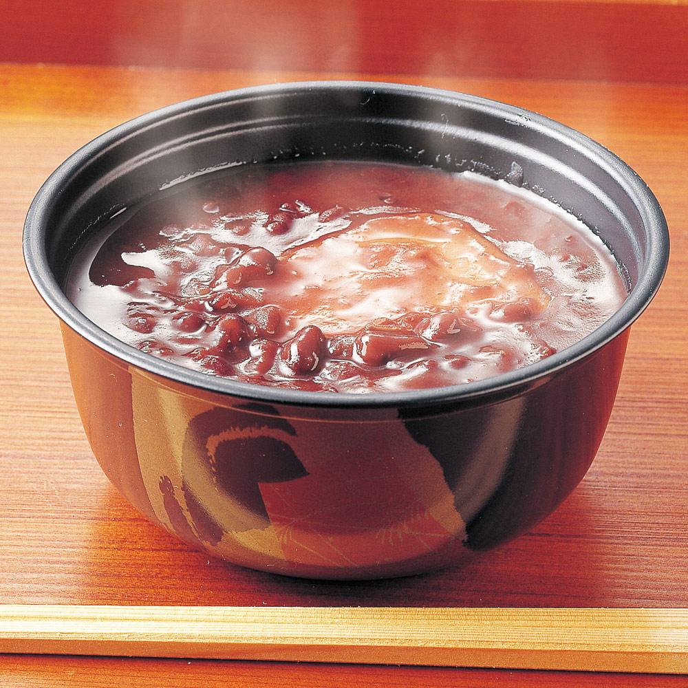 グルメ 食品 スイーツ 和スイーツ 「銚子屋」お餅入り こだわりぜんざい (190g×10個) FK4535