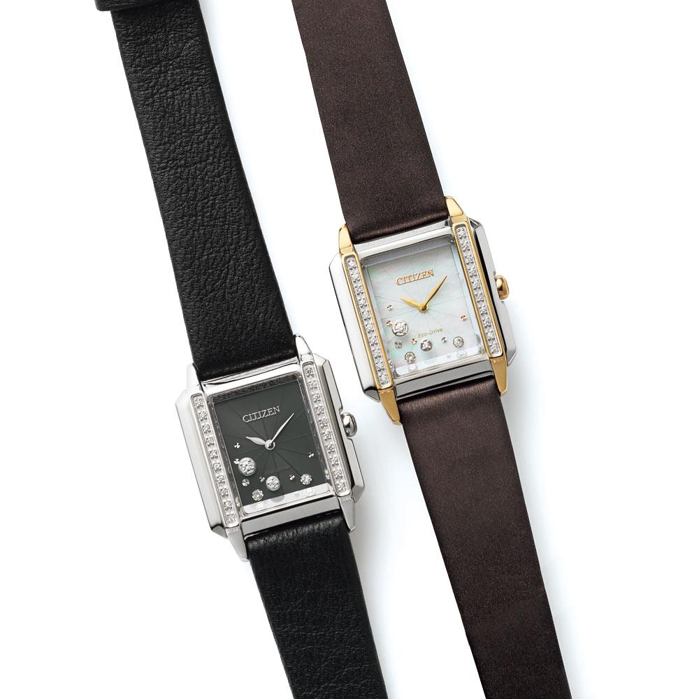 バッグ 靴 アクセサリー レディース腕時計 【コンビ】 CITIZEN/シチズン シチズンL スクエア 120905