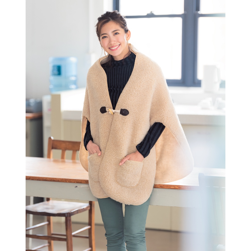 バッグ 靴 アクセサリー ファッション小物 COLD BREAKER/コールドブレーカー ウールポンチョ M79701