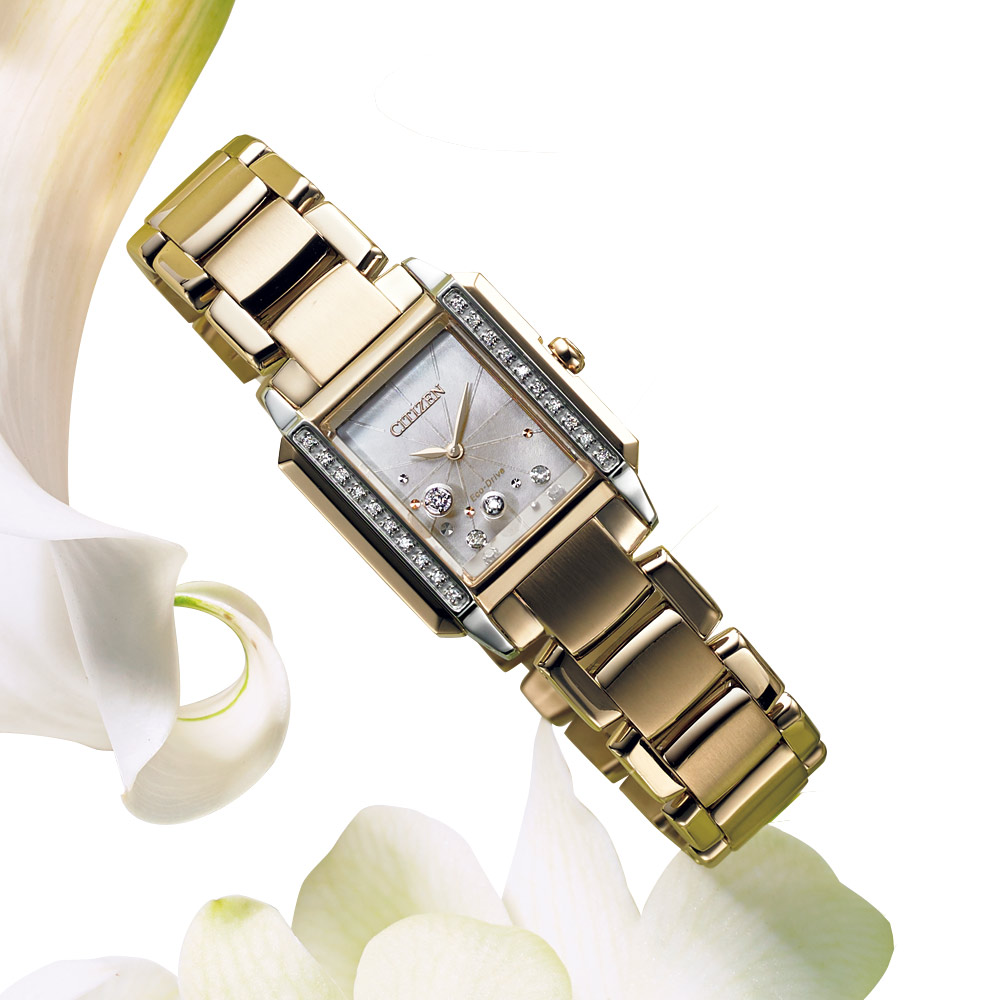 バッグ 靴 アクセサリー レディース腕時計 CITIZEN/シチズン シチズンL スクエア J37802