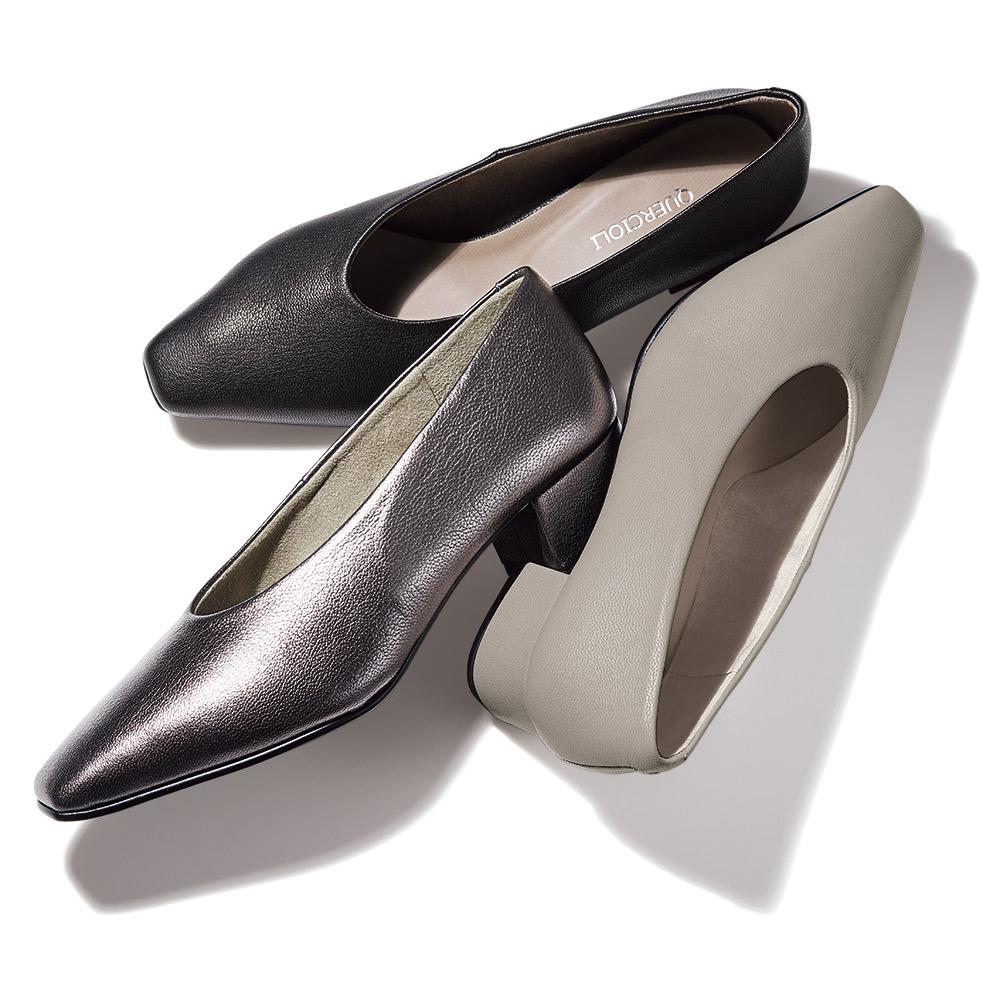 バッグ 靴 アクセサリー パンプス サンダル ソフトレザー パンプス 122206