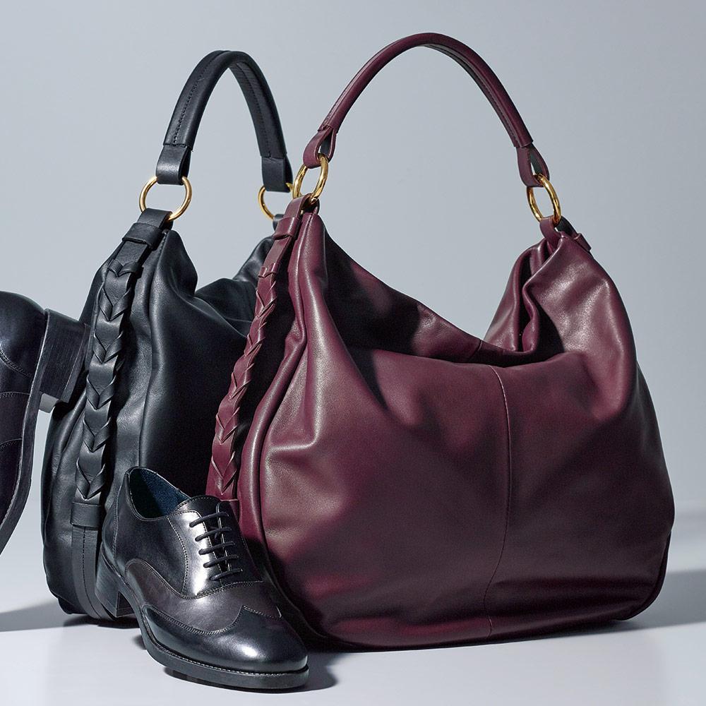 バッグ 靴 アクセサリー レザーバッグ 革バッグ INNUE/イヌエ 2WAY ワンショルダーバッグ(イタリア製) 128101
