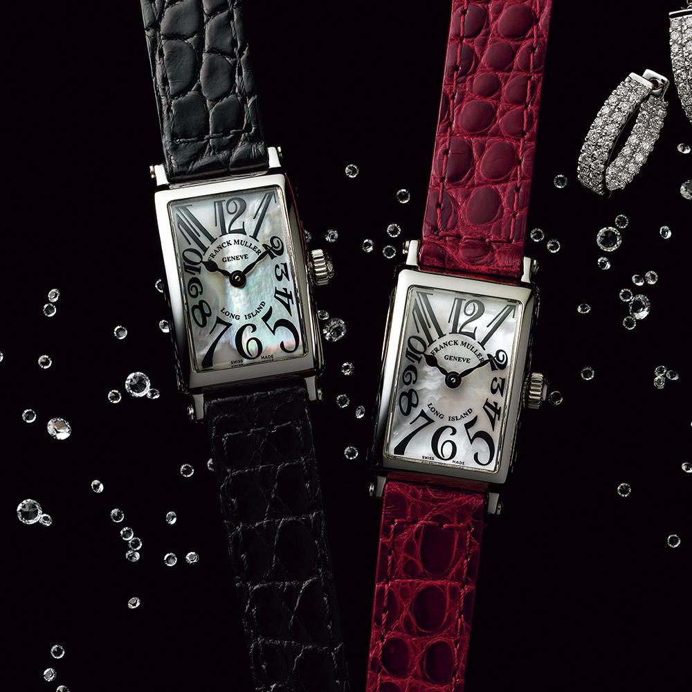 バッグ 靴 アクセサリー レディース腕時計 FRANCK MULLER/フランク・ミュラー ロングアイランド プティ 144701