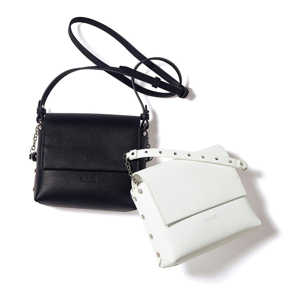 バッグ 靴 アクセサリー レザーバッグ 革バッグ BARCOS/バルコス スタッズデザイン 2WAY バッグ 145403
