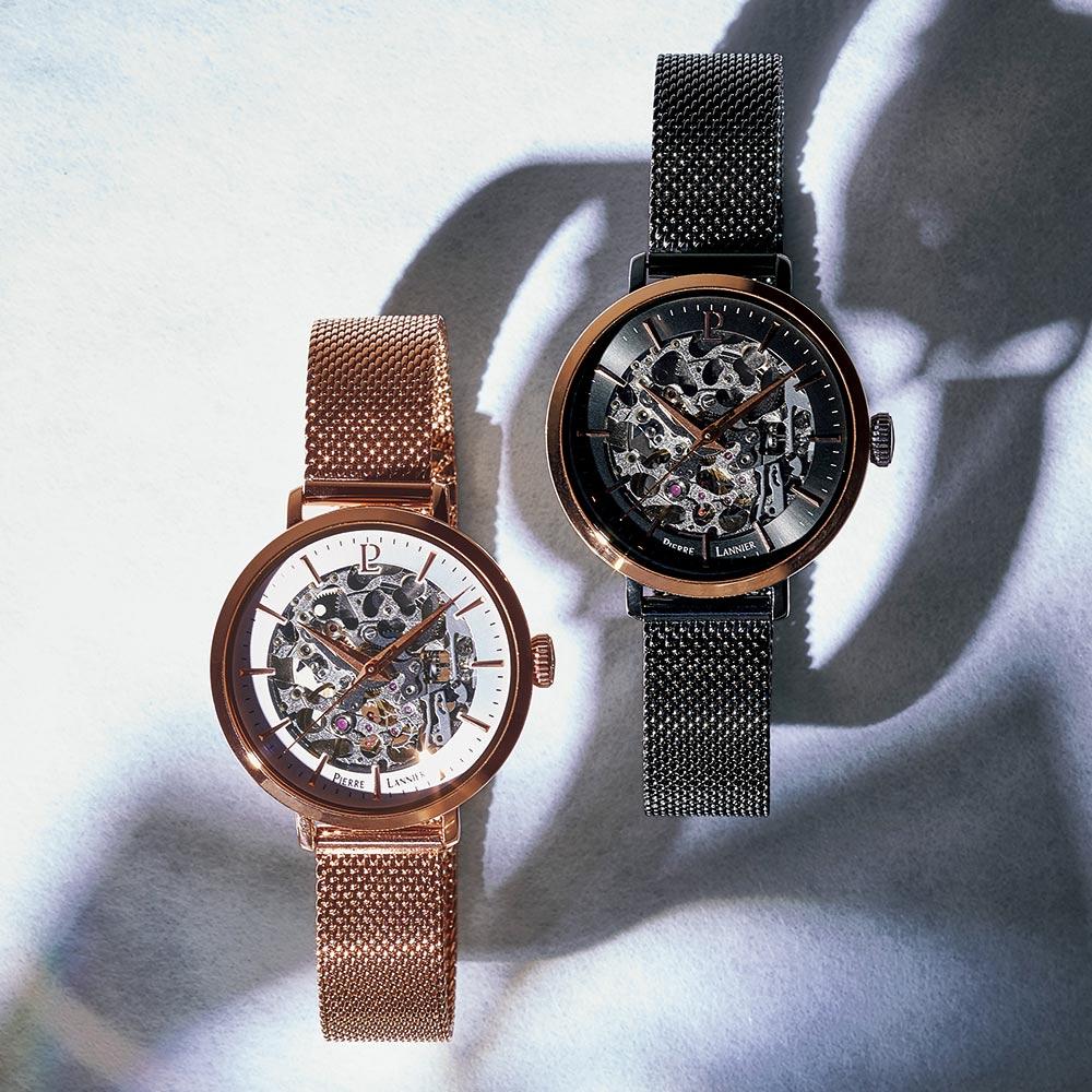 バッグ 靴 アクセサリー レディース腕時計 Pierre Lannier/ピエールラニエ オートマコレクション J38340