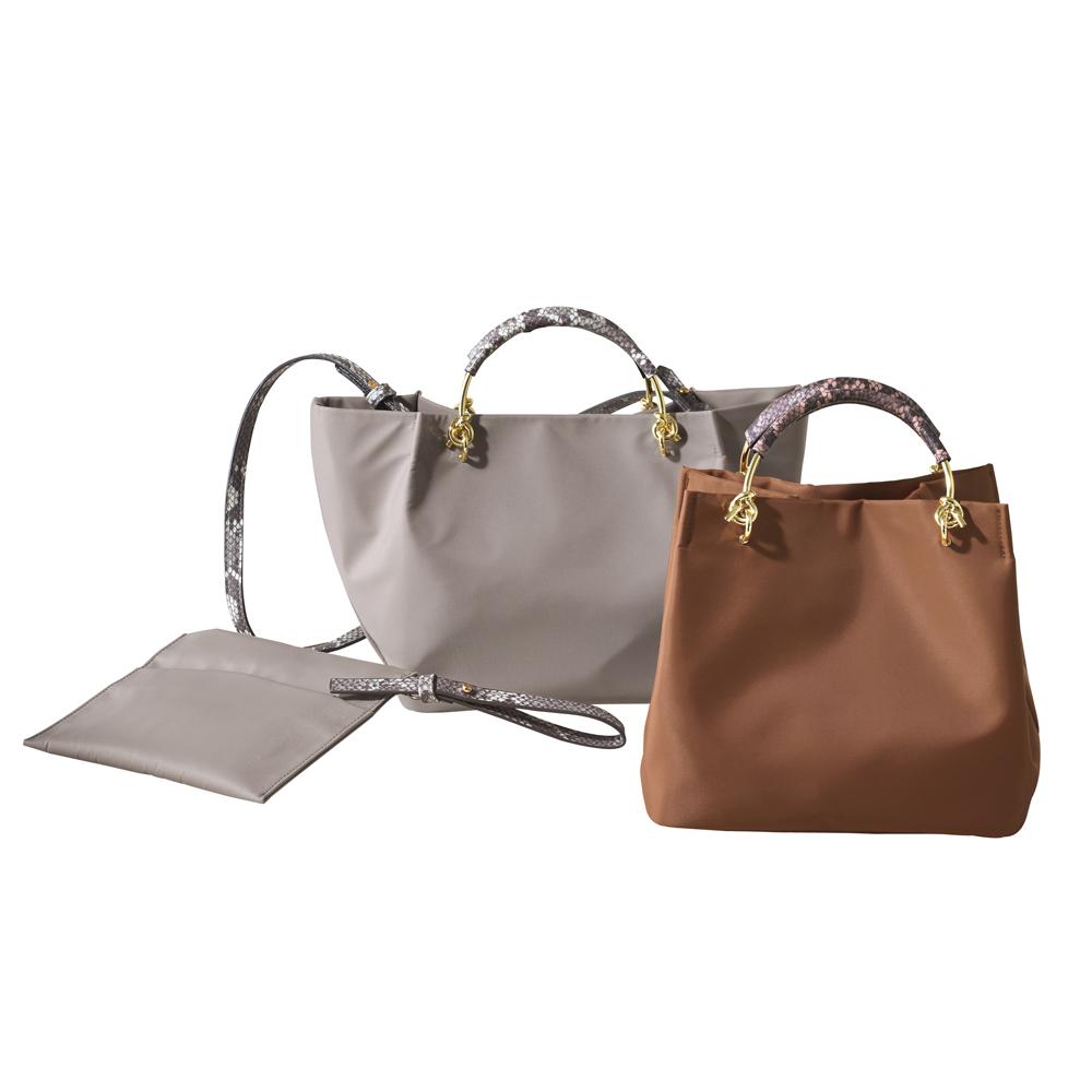 バッグ 靴 アクセサリー ハンドバッグ Cachellie/カシェリエ ナイロントートバッグ 211801