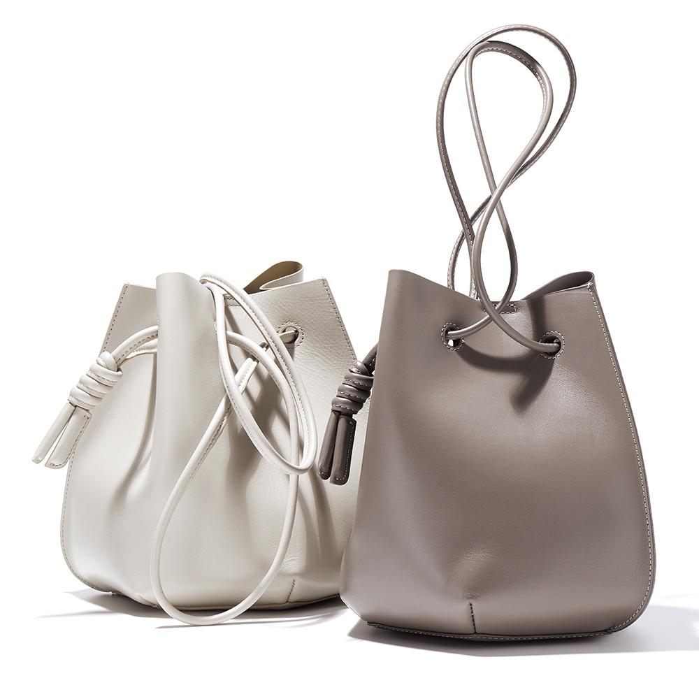 バッグ 靴 アクセサリー レザーバッグ 革バッグ イタリアンレザー 一枚革 ラウンドフォルム バッグ 226603