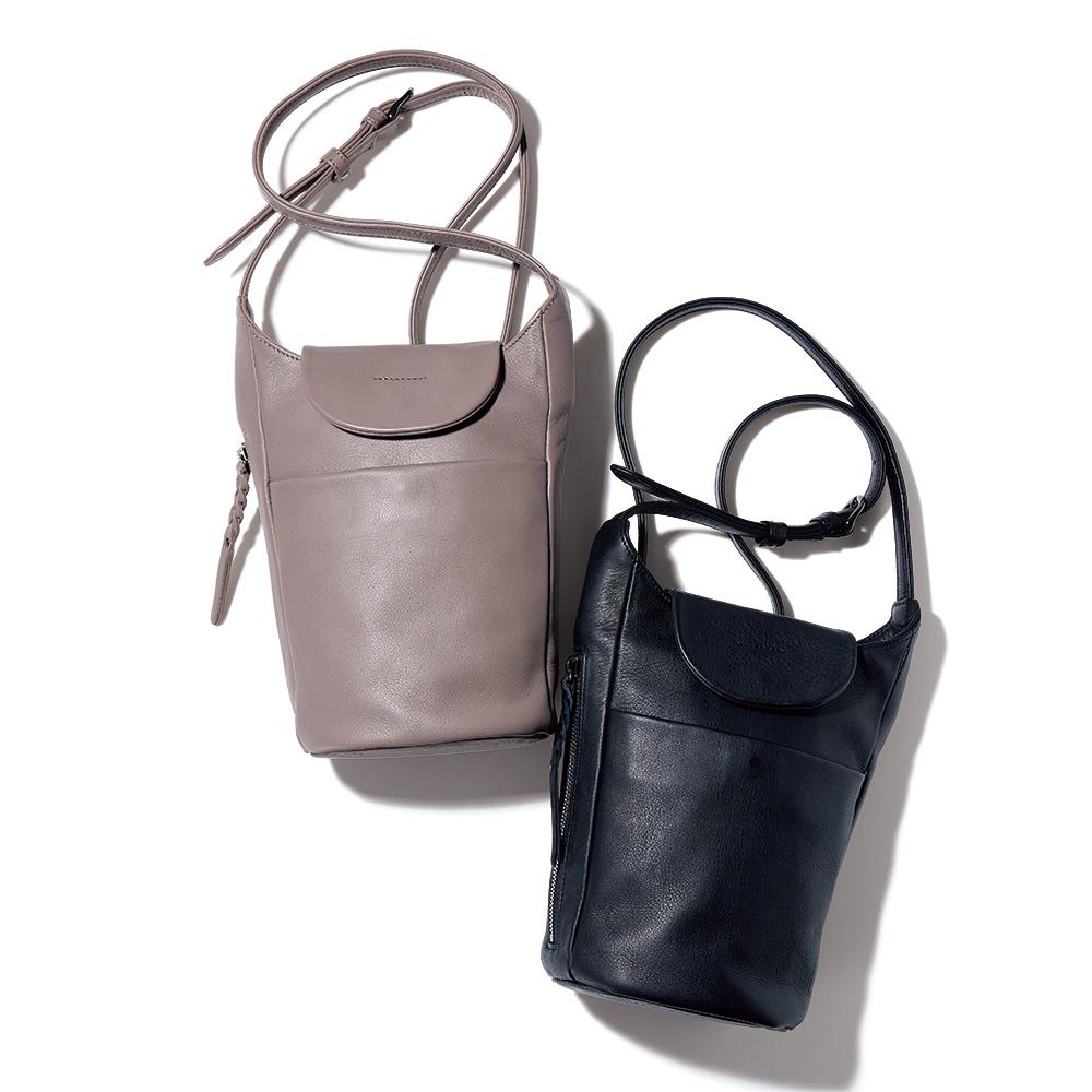 バッグ 靴 アクセサリー レザーバッグ 革バッグ 縦型 ショルダーバッグ 226605