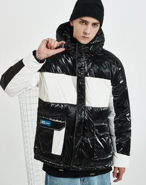 送料無料!秋冬モデル ダウンジャケット コート/メンズ ジャケット ジャケット 無地 欧米風 長袖 コート トップス メンズウェア 大きい