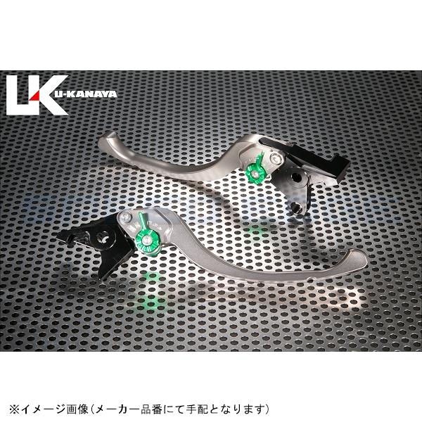 [SU020-021-0806] U-KANAYA(ユーカナヤ) レバーセット ツーリング チタン/レッド GSX-R750/600 06-07