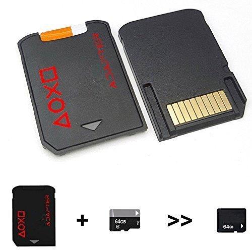 SD2VITA ゲーム カード型 microSD アダプター PlayStation ブラック