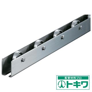 TRUSCO ホイールコンベヤ SUS製Φ38X12 P100XL2400 V-38SUS-100-2400 ( 4612442 )