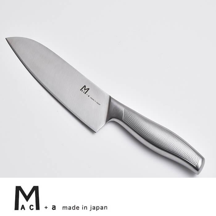 包丁 MAC+a 三徳包丁 MA-165 ステンレス