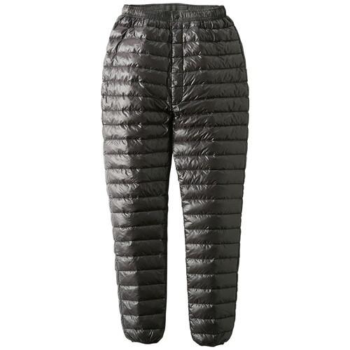 ロゴス ダウンパンツ・ホー (ブラック)LL (LOGOS) ダウンパンツ 防寒着 バイク 大きいサイズ キャンプ 防寒 アウトドア パンツ 羽毛